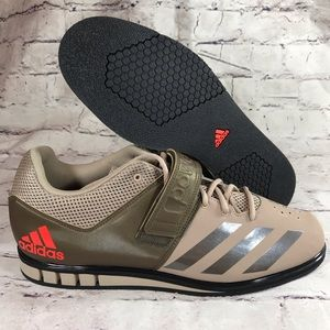Adidas Powerlift 3.1 beige weightlifting shoes